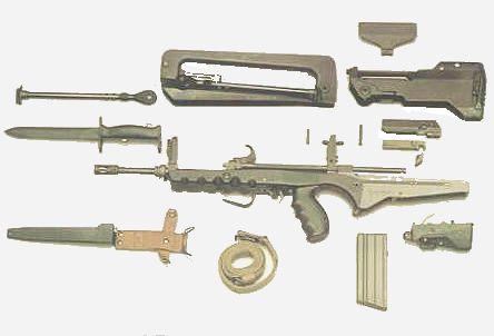 461 famas f1part Famas Piyade Tüfeği Hakkında Bilgi