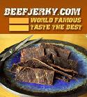 When real men are Hungry, only real beef jerky will do.. Beefjerky.com. Not for whimps. Click to order.